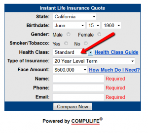 Standard Life Insurance Quote